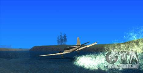 Water Effect pour GTA San Andreas