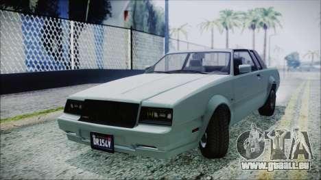 GTA 5 Willard Faction für GTA San Andreas zurück linke Ansicht
