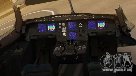 Airbus A330-300 American Airlines für GTA San Andreas Rückansicht