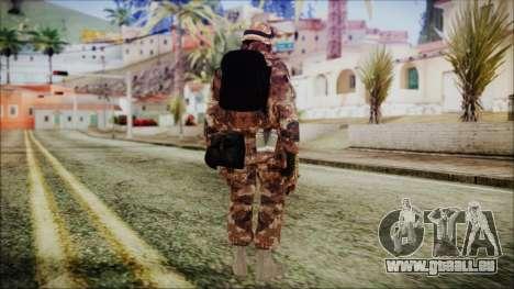 Chinese Army Desert Camo 3 für GTA San Andreas dritten Screenshot