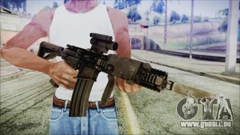 MK18 SEAL pour GTA San Andreas troisième écran