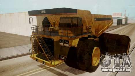 Dump Truck für GTA San Andreas