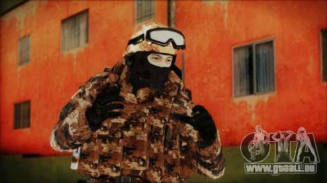 Chinese Army Desert Camo 4 pour GTA San Andreas