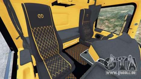 GTA 5 Scania R730 rechte Seitenansicht