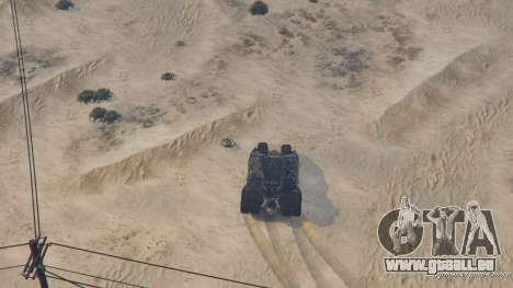 GTA 5 The Tumbler Lenkrad