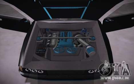 Elegy DRIFT KING GT-1 (Stok wheels) pour GTA San Andreas vue arrière