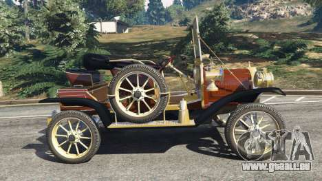 GTA 5 Ford Model T [two colors] linke Seitenansicht