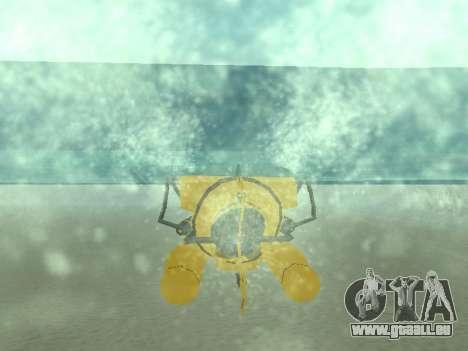Submersible de GTA V pour GTA San Andreas roue