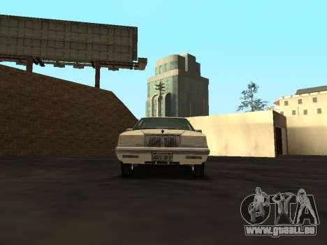 Chrysler New Yorker 1988 pour GTA San Andreas vue intérieure