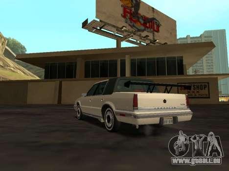Chrysler New Yorker 1988 pour GTA San Andreas salon