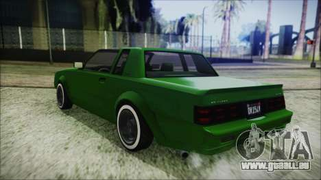 GTA 5 Willard Faction Custom für GTA San Andreas zurück linke Ansicht