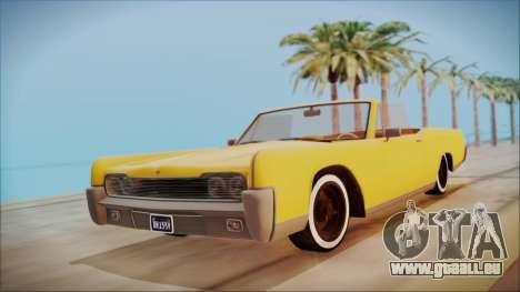 GTA 5 Vapid Chino Bobble Version pour GTA San Andreas
