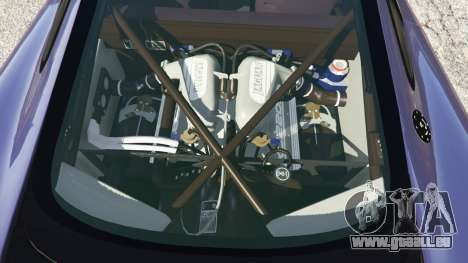 GTA 5 Jaguar XJ220 v0.9 droite vue latérale