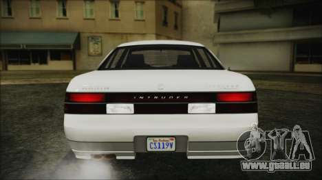 GTA 5 Karin Intruder IVF für GTA San Andreas Rückansicht