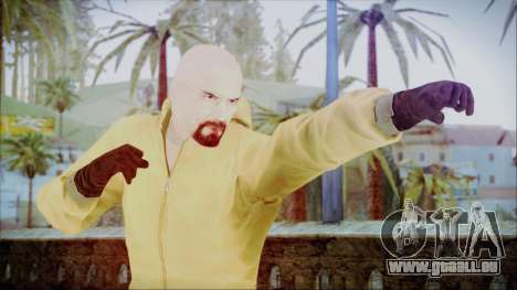 Walter White Breaking Bad Chemsuit für GTA San Andreas