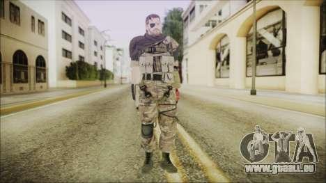 MGSV Phantom Pain Snake Scarf Wetwork pour GTA San Andreas deuxième écran