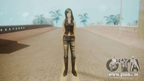 Tifa Black für GTA San Andreas zweiten Screenshot