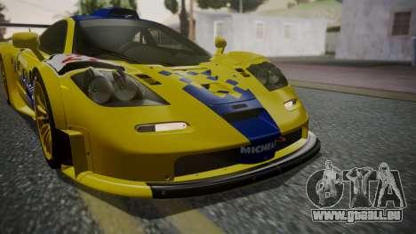 McLaren F1 GTR 1998 Parabolica für GTA San Andreas Seitenansicht