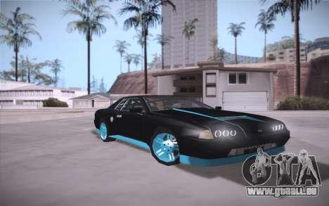 Elegy DRIFT KING GT-1 (Stok wheels) pour GTA San Andreas