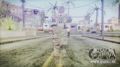 MGSV Phantom Pain Snake Scarf Olive Drab pour GTA San Andreas troisième écran