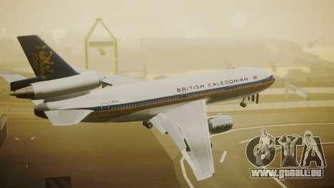 McDonnell-Douglas DC-10-30 British Caledonian für GTA San Andreas linke Ansicht