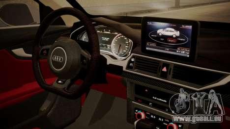 Audi RS7 X-UK L3D pour GTA San Andreas vue de droite