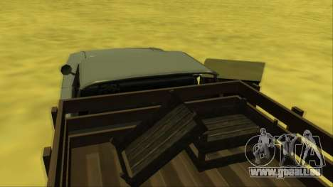 Voodoo El Camino v2 (Truck) für GTA San Andreas Innen
