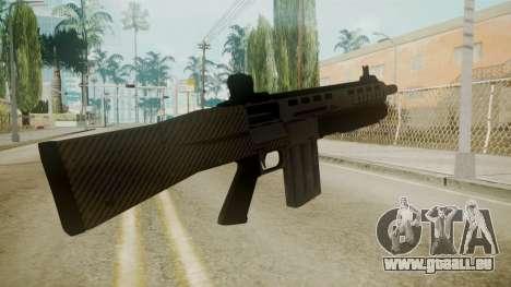 GTA 5 Combat Shotgun für GTA San Andreas dritten Screenshot