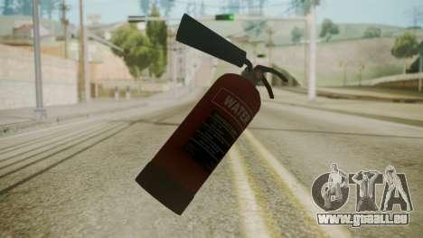 GTA 5 Fire Extinguisher pour GTA San Andreas deuxième écran