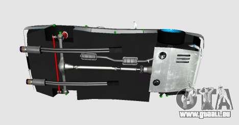 Elegy DRIFT KING GT-1 (Stok wheels) pour GTA San Andreas vue de droite