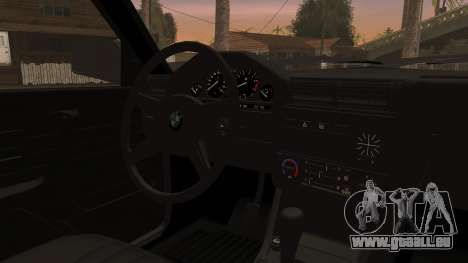 BMW M3 E30 Sedan für GTA San Andreas Rückansicht