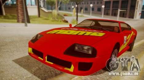 Jester FnF Skins 1 pour GTA San Andreas vue de côté