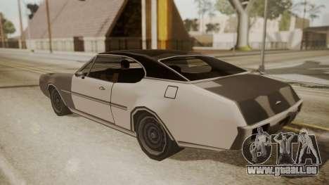 Clover FnF Skin pour GTA San Andreas vue arrière