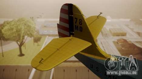 Grumman G-21 Goose N130FB pour GTA San Andreas sur la vue arrière gauche