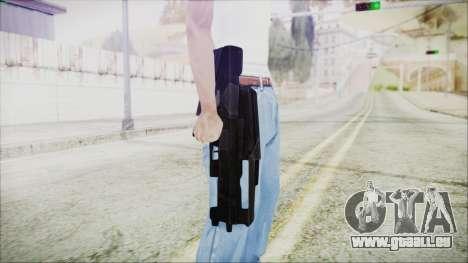 VA-1810X Sub Machine Gun für GTA San Andreas dritten Screenshot