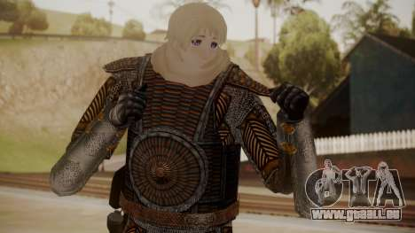 Boyar Knight - 17th Century pour GTA San Andreas