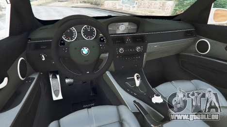 GTA 5 BMW M3 (E92) [LibertyWalk] v1.1 hinten rechts