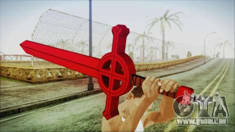 Demon Blood Sword from Adventure Time pour GTA San Andreas