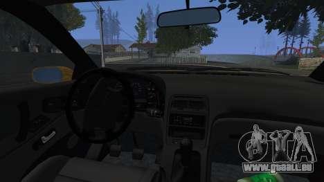 Nissan Fairlady Z Twinturbo 1993 pour GTA San Andreas vue intérieure