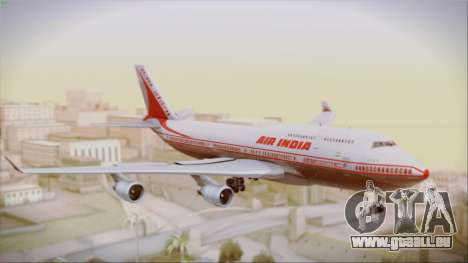 Boeing 747-437 Air India Tanjore New Skin pour GTA San Andreas