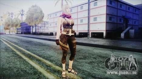 Mila from Counter Strike für GTA San Andreas zweiten Screenshot