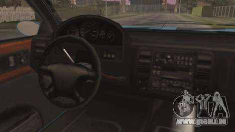 GTA 5 Albany Washington pour GTA San Andreas vue arrière