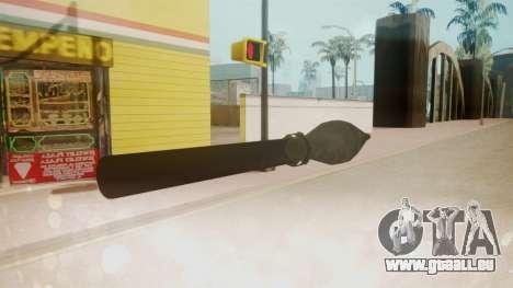 GTA 5 Missile für GTA San Andreas dritten Screenshot