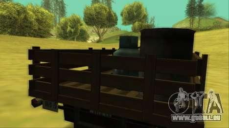 Voodoo El Camino v2 (Truck) für GTA San Andreas Motor