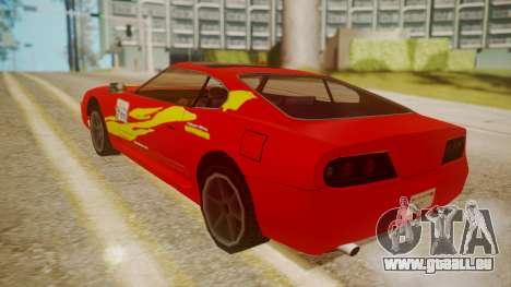 Jester FnF Skins 1 pour GTA San Andreas vue de dessus