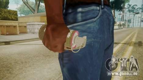GTA 5 Tear Gas pour GTA San Andreas troisième écran