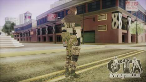 MGSV Phantom Pain Snake Scarf Wetwork für GTA San Andreas dritten Screenshot