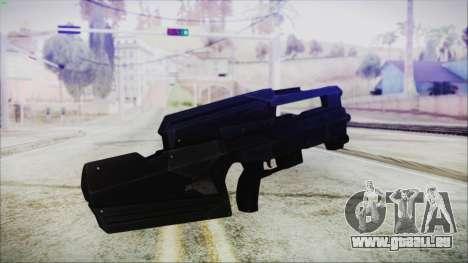 VA-1810X Sub Machine Gun für GTA San Andreas zweiten Screenshot