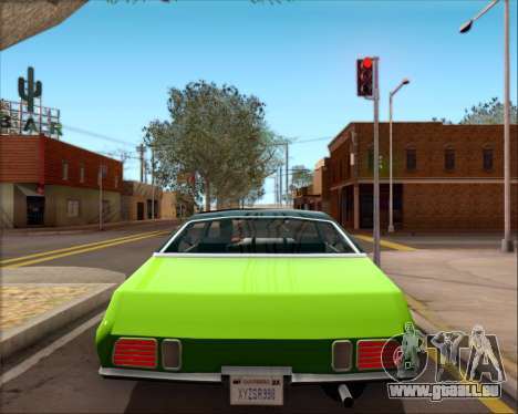 Clover Barracuda für GTA San Andreas Innenansicht