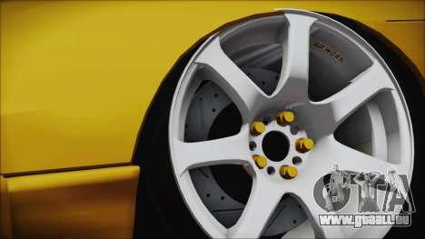 Nissan Onevia Type-X für GTA San Andreas zurück linke Ansicht